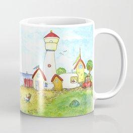 At the seaside Coffee Mug