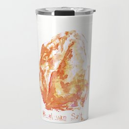 Himalayan Salt Crystal Painting Travel Mug