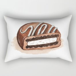 Chocolate Covered Cookie Rectangular Pillow