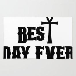 Best Day Ever Christian Easter Gift Rug
