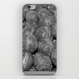Brussel Sprouts iPhone Skin