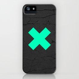 Plus Print iPhone Case