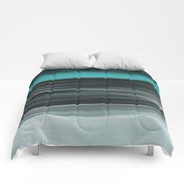 Ocean Calm Abstract Seascape Comforters