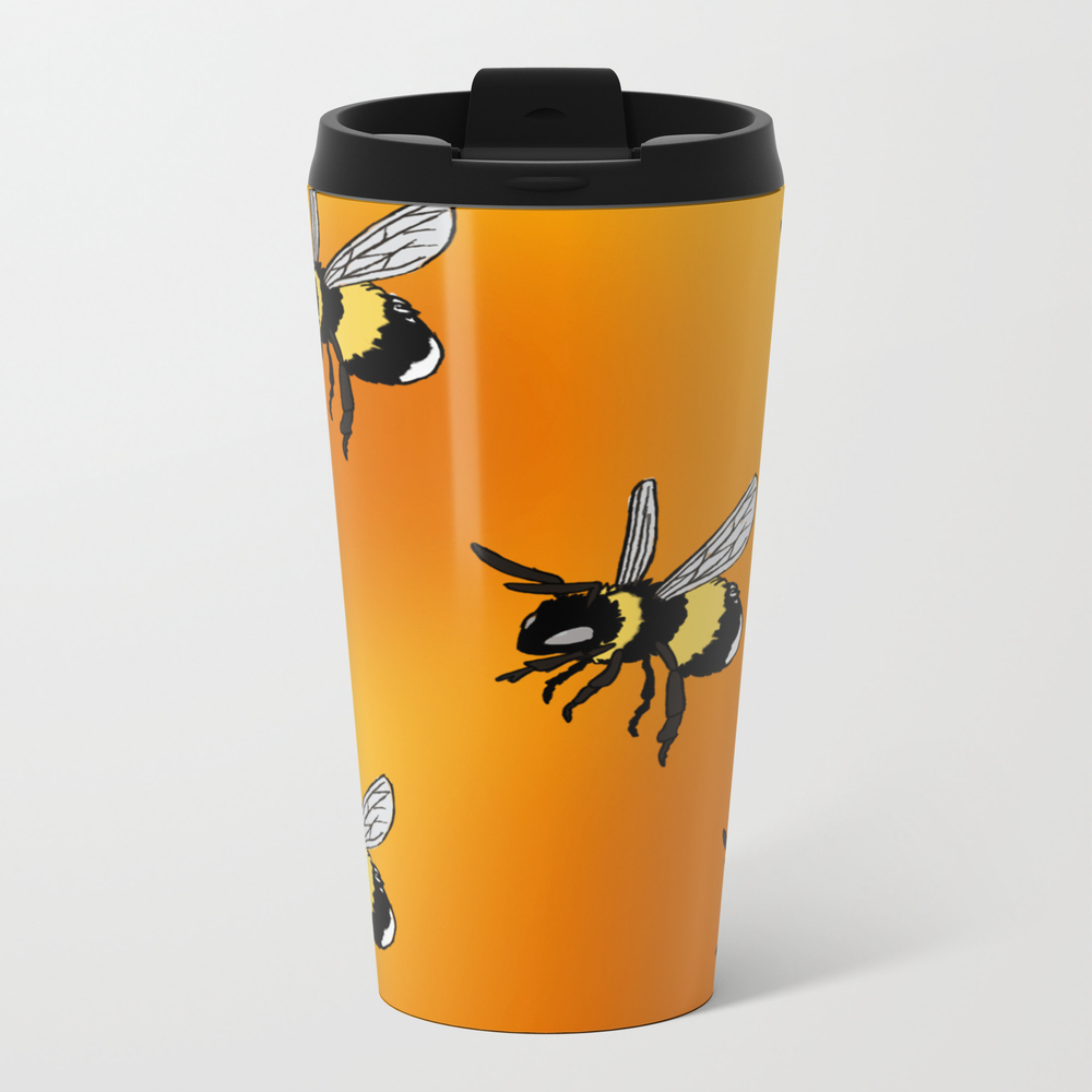 Honey Bee Pattern Travel Cup TRM8843343