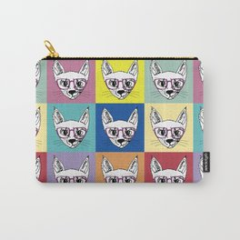 geek cool cat Carry-All Pouch