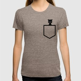 Animal Pocket Cat T-shirt