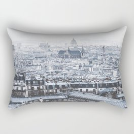 Rooftops - Architecture, Photography Rectangular Pillow