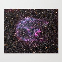 Purple Supernova Canvas Print