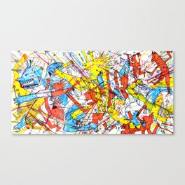 Taunt the Tantrum to Tame Canvas Print