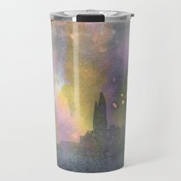 Paris in the Rain Travel Mug