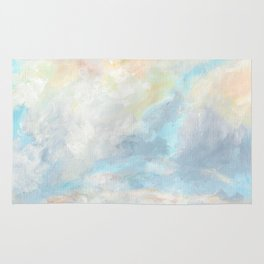 CLOUDS PAINTING Rug