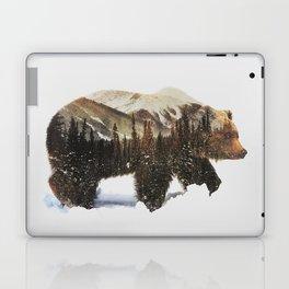 Arctic Grizzly Bear Laptop & iPad Skin