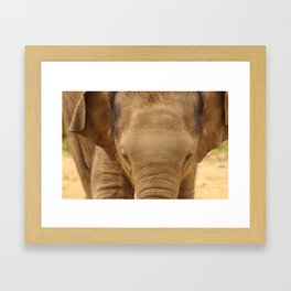 The charge  Framed Art Print