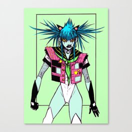 salor lunatic Canvas Print