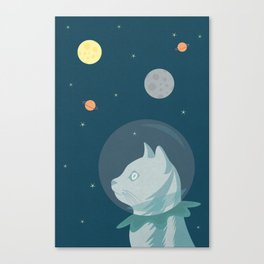 Dreaming about Space Canvas Print