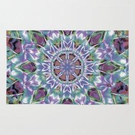 Abstract Flower AA YY QQ Rug