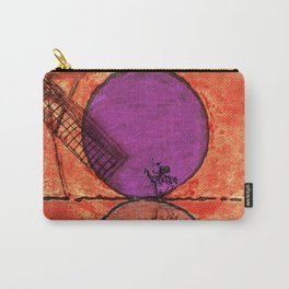 Don Quixote and the backlands of Brazil Carry-All Pouch