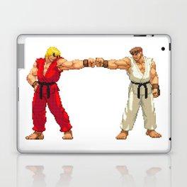 Ryu Hoshi and Ken Masters Pixel Art Laptop & iPad Skin
