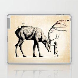 Knowing the Deer Tree Laptop & iPad Skin