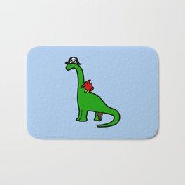 Pirate Dinosaur - Brachiosaurus Bath Mat