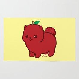 Apple Red Pom de Terrier Rug