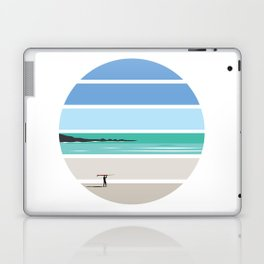 Tiree Longboarder Laptop & iPad Skin