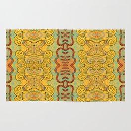 Boujee Boho Elegant Golden Charm Rug