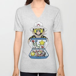 Mario - Fear And Loathing In Las Vegas Unisex V-Neck