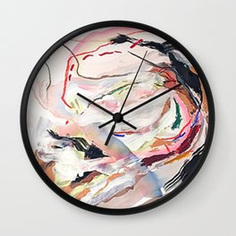 Day 30: To experience the full splendor of living in the world requires an obligatory temperance. Wall Clock