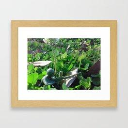 cloverpatch war Framed Art Print