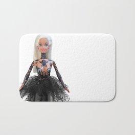 Tattooed Barbie Bath Mat
