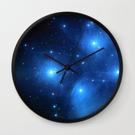 "The Pleiades (""The Seven Sisters"") (NASA/ESA/Palomar Observatory) Wall Clock"