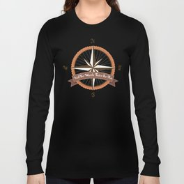 Bicycle Wind Rose Long Sleeve T-shirt