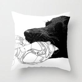 tug Throw Pillow