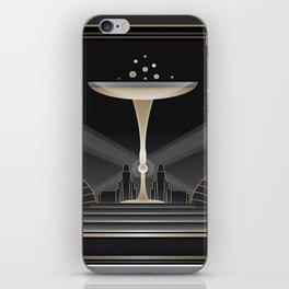 Art deco design VI iPhone Skin