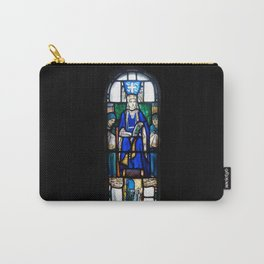 St Margaret Stained Glass Carry-All Pouch