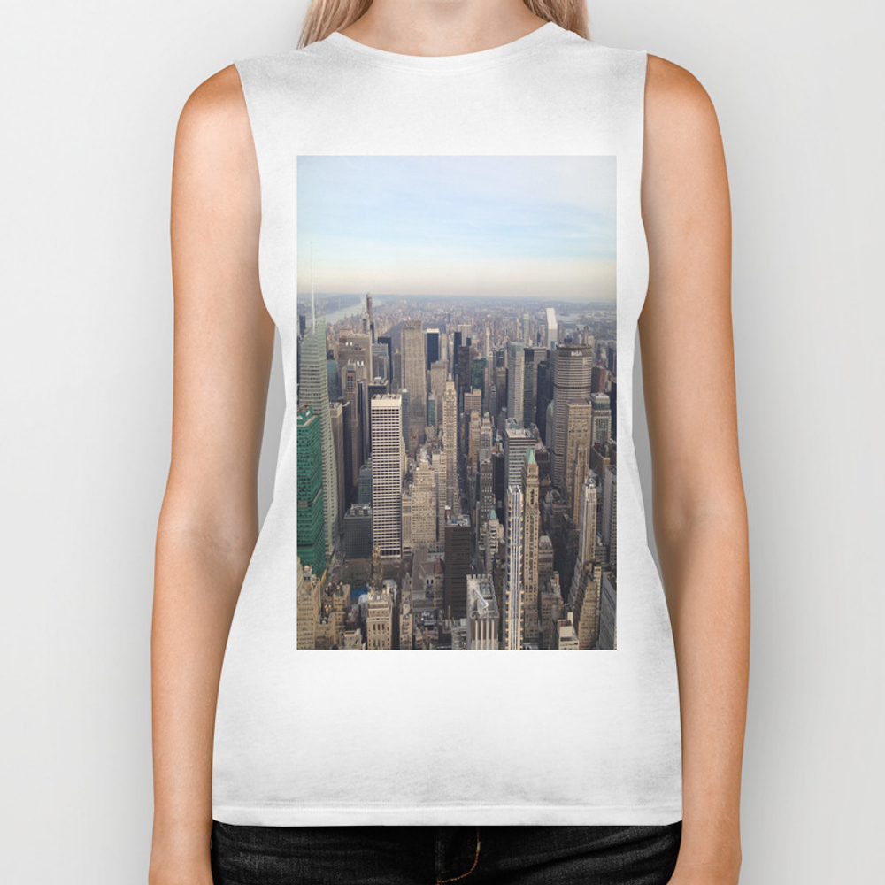 New York I Love You Biker Tank by Lucreziasemenzato BKT929300
