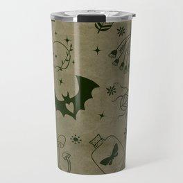 Magic symbols Travel Mug