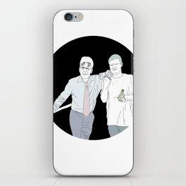 Yung Lean & Charlie Sheen iPhone Skin