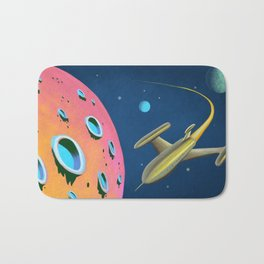 Fantastic Adventures in Outer Space Bath Mat
