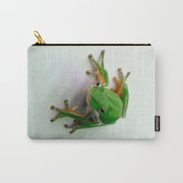 Green Tree Frog Carry-All Pouch