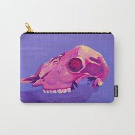 Purple Desert Skull Carry-All Pouch