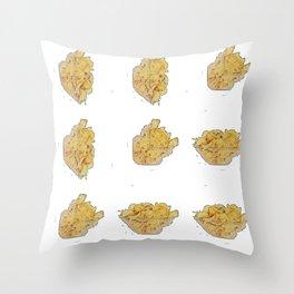 Crisp bowl bywhacky Throw Pillow