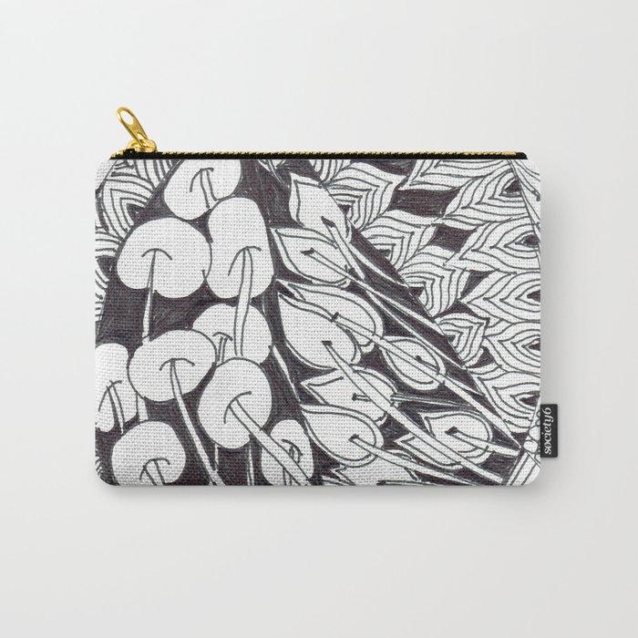 Zen Doodle Graphics zz13 Carry-All Pouch
