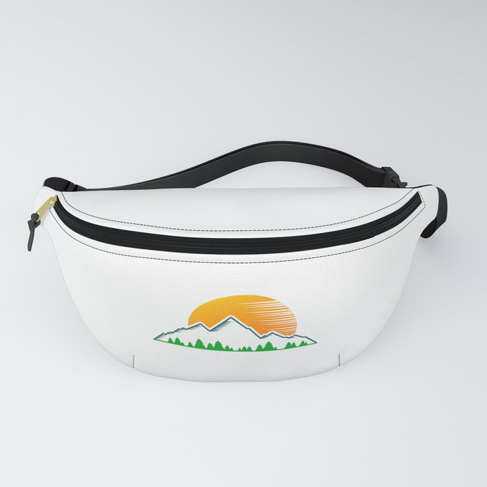 Hiking Lover Hiker | Mountains Gift Idea Fanny Pack