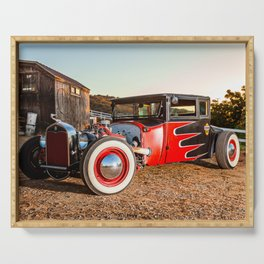 Hot Rod Serving Tray
