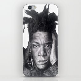 Jean-Michel Basquiat Drawing iPhone Skin