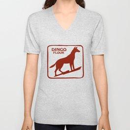 Dingo Flour Unisex V-Neck