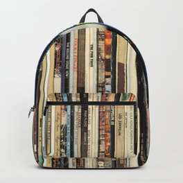 Classic Rock Vinyl Records Backpack