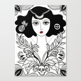 HIGH PRIESTESS Canvas Print